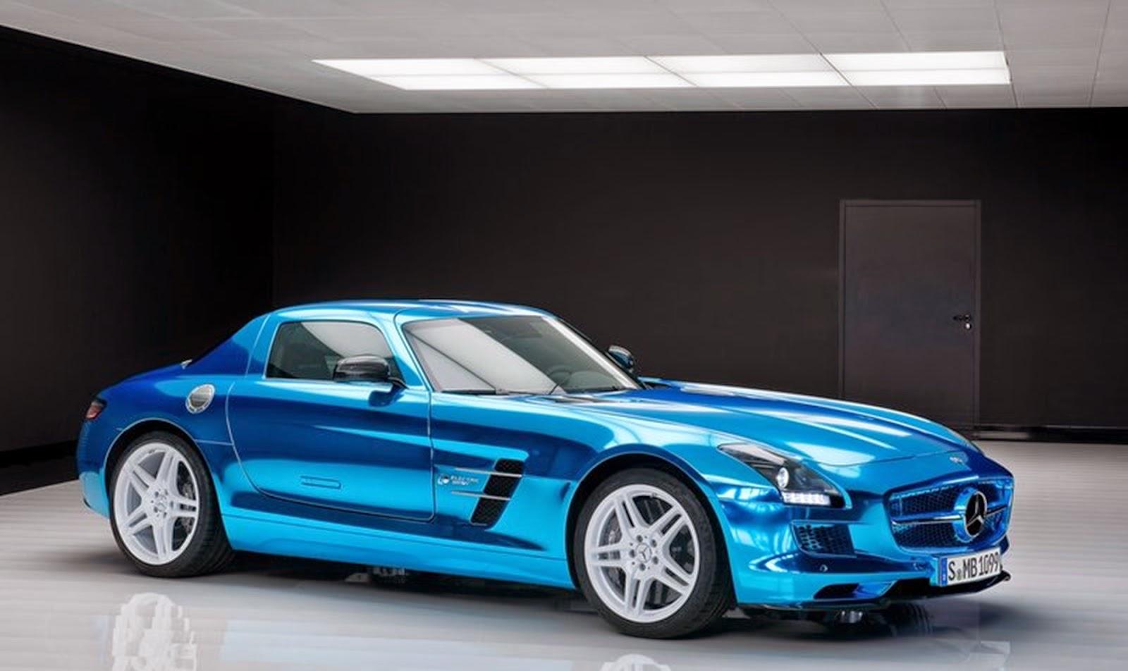 Carrosport1 carro mercedes benz sls amg coupe electric for Mercedes benz electric sls