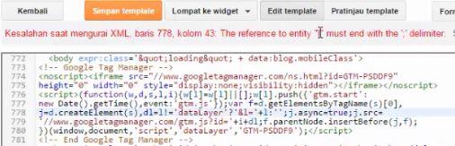 Cara Memperbaiki Kode Google Tag Manager Error