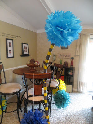 Dr. Seuss Truffula Trees from Lomax