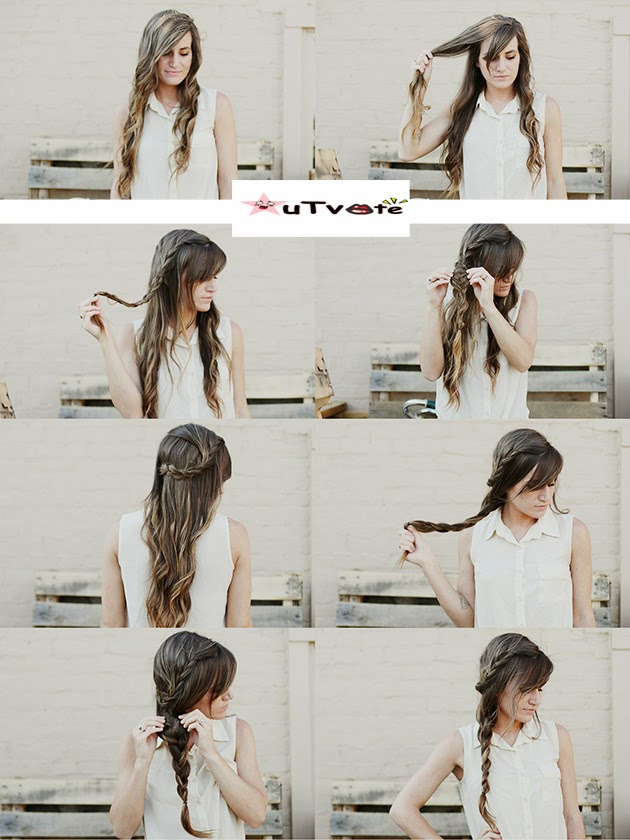 Simple Braid Hair Styling Tips, DIY Make Over New Hair Styling