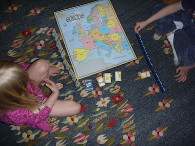 Hands-On Geography Board Game 10 Days in Europe