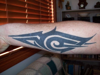 Tribal tattoo Design for Arms