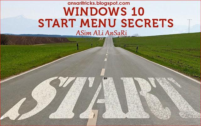 Windows 10 Start Menu Secrets Every Desktop