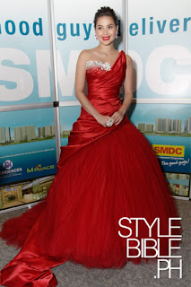 Anne Curtis in red gown