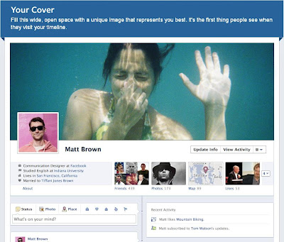 facebook new timeline