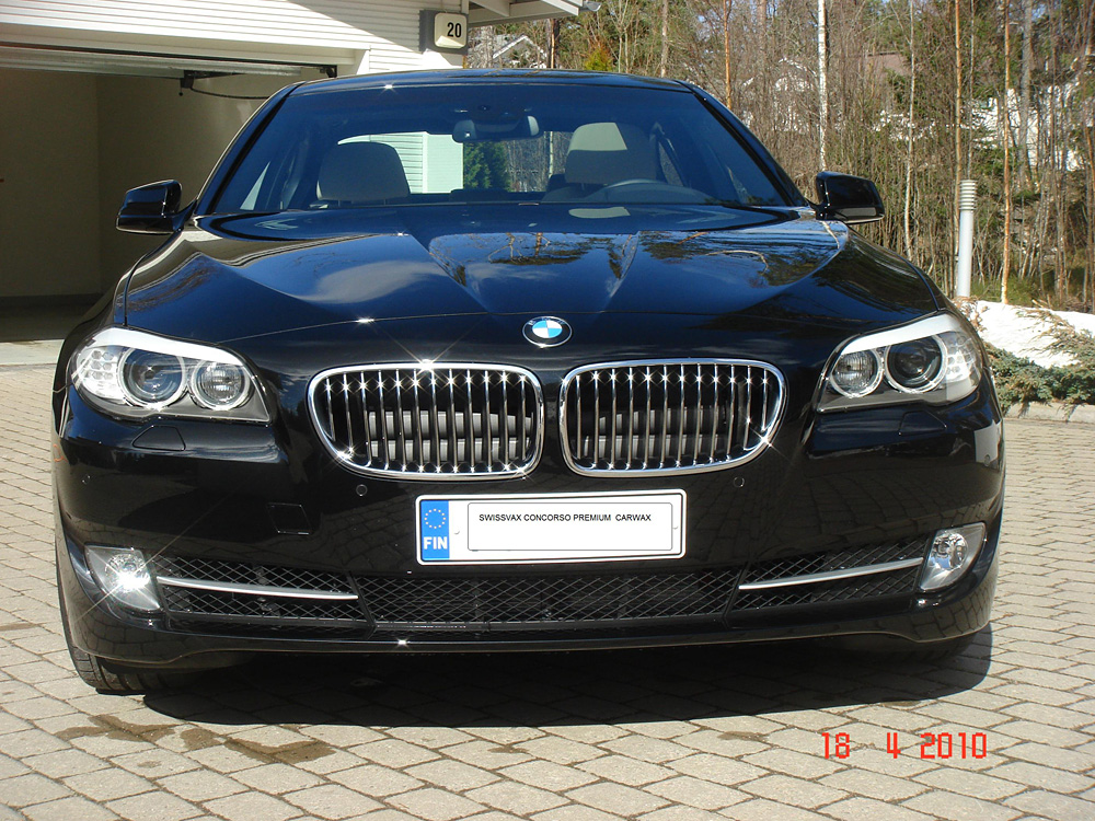 Top Speed Latest Cars 2011 Bmw 5 Series F10 Black Bison Designed Wald International