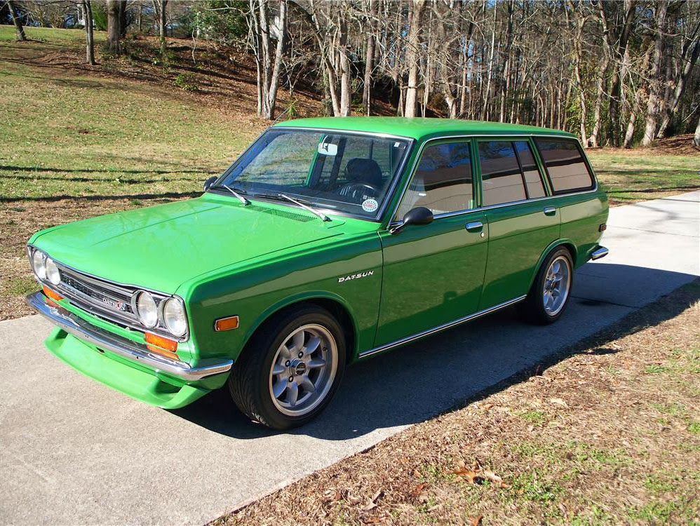 1972 datsun 510 wagon auto restorationice. Black Bedroom Furniture Sets. Home Design Ideas
