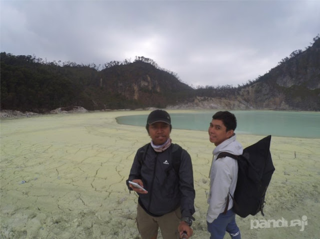 Kawah putih di Bandung