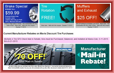 Discount tire coupons online