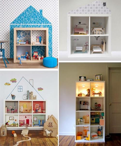 juguetes de muebles de ikea en miniatura libreria expedit