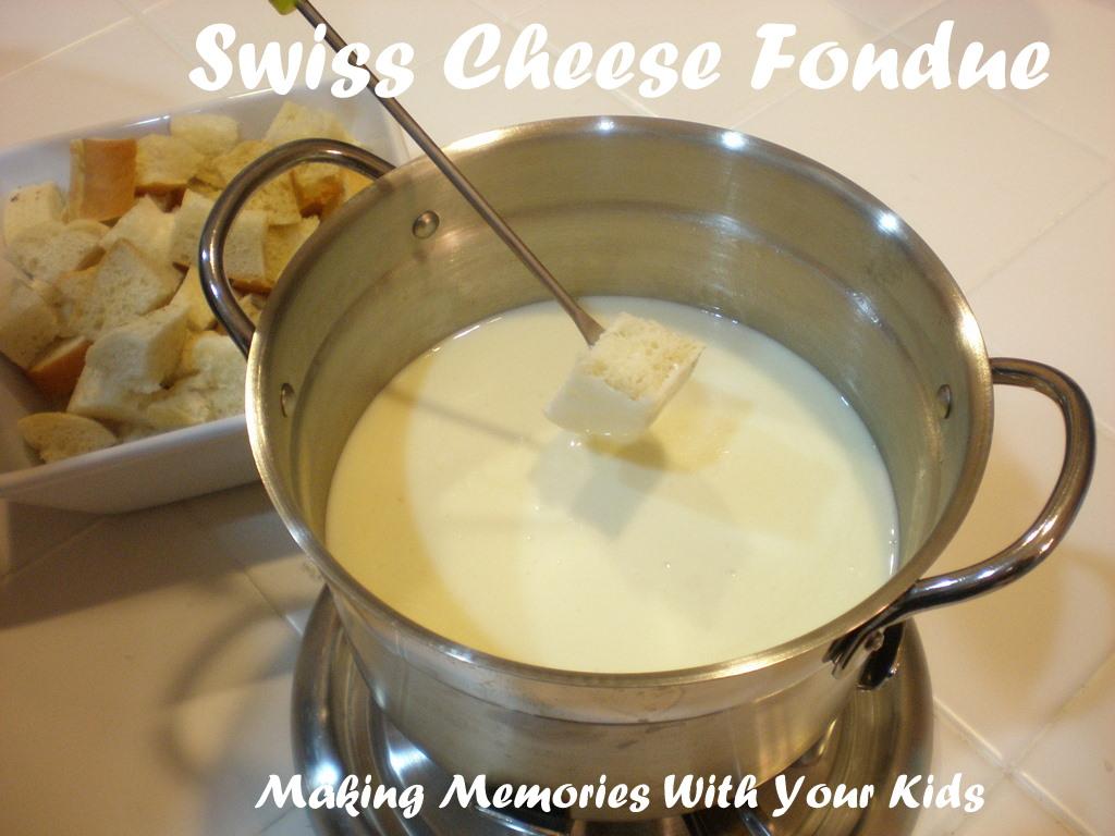 Der Rheinlander Swiss Cheese Fondue - Making Memories With Your Kids