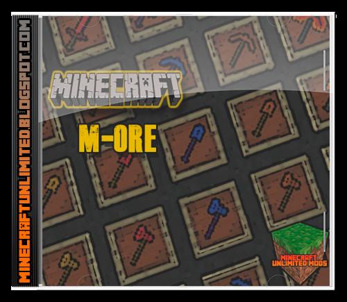 M-Ore Mod Minecraft