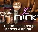 CLICK Espresso Protein Drink - Sponsor of the #BFHolidayChallenge Week 4!