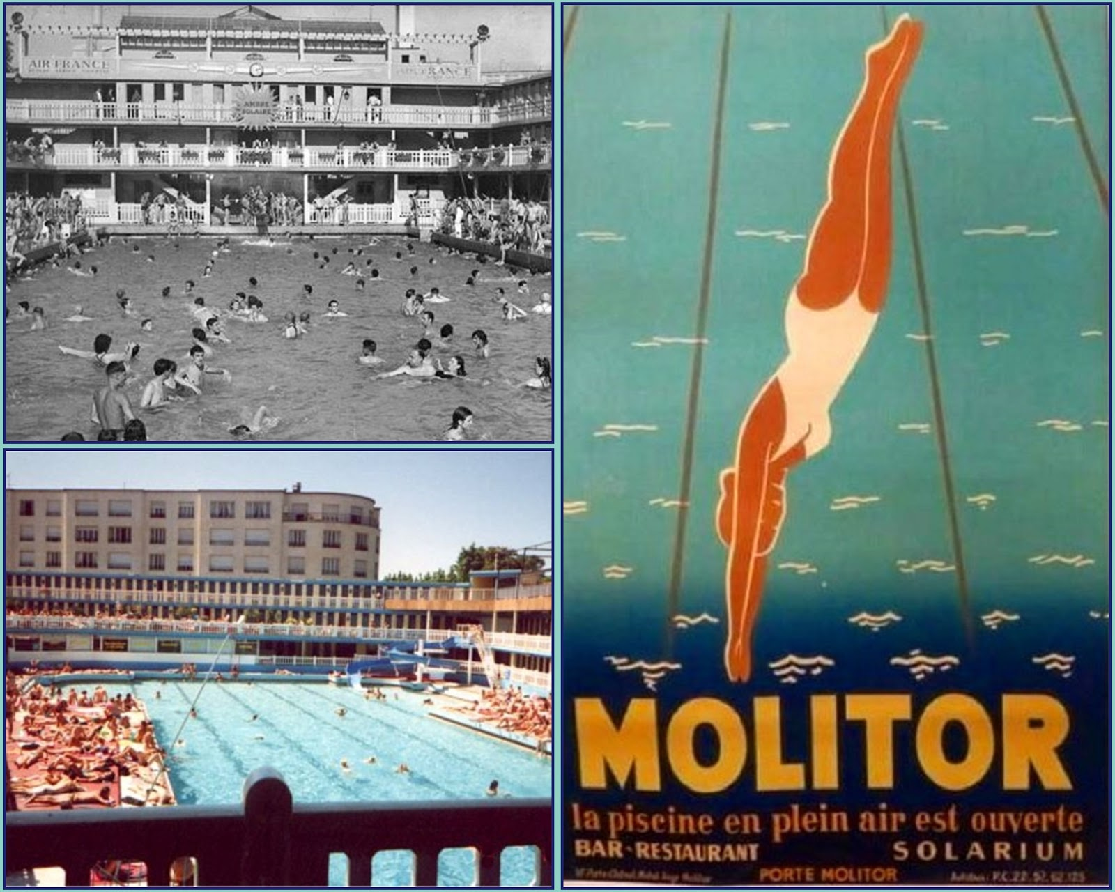 Recollections of a vagabonde recollection piscine for Molitor swimming pool paris