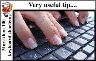More than 100 Keyboard Shortcuts