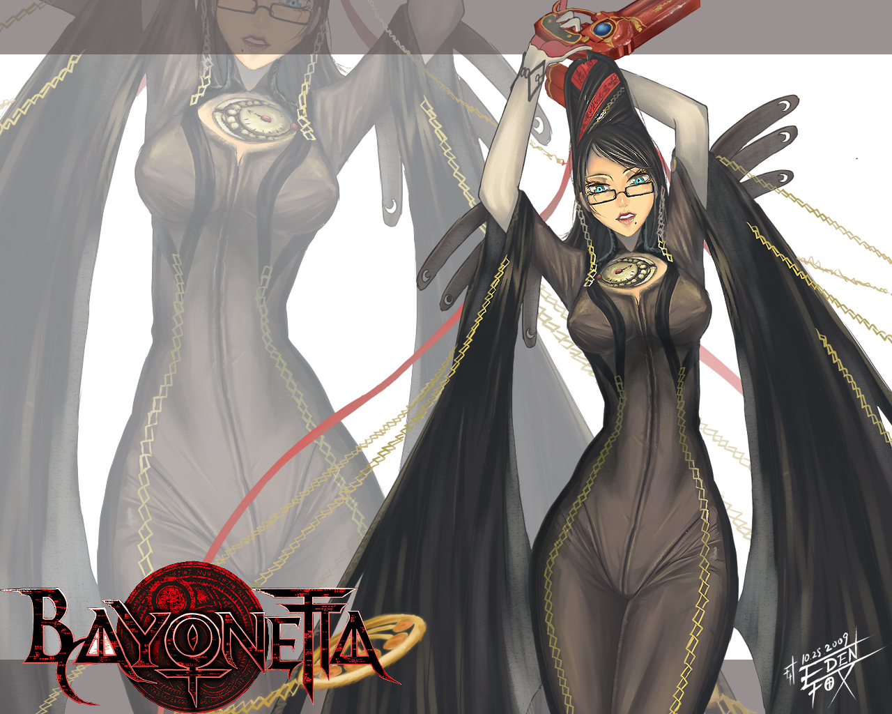 Bayonetta HD & Widescreen Wallpaper 0.797081685072554