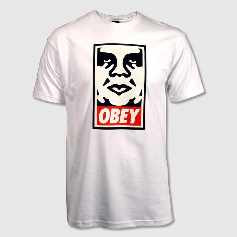 obey t shirt herren obey spider rose white long sleeve t. Black Bedroom Furniture Sets. Home Design Ideas
