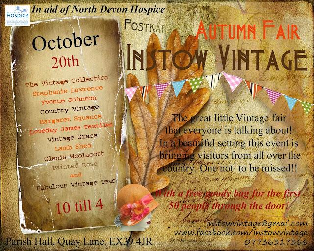 Instow Vintage Fair – Oct 20th