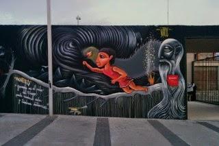 La luz de Prometo [Mythos Street Art Series]