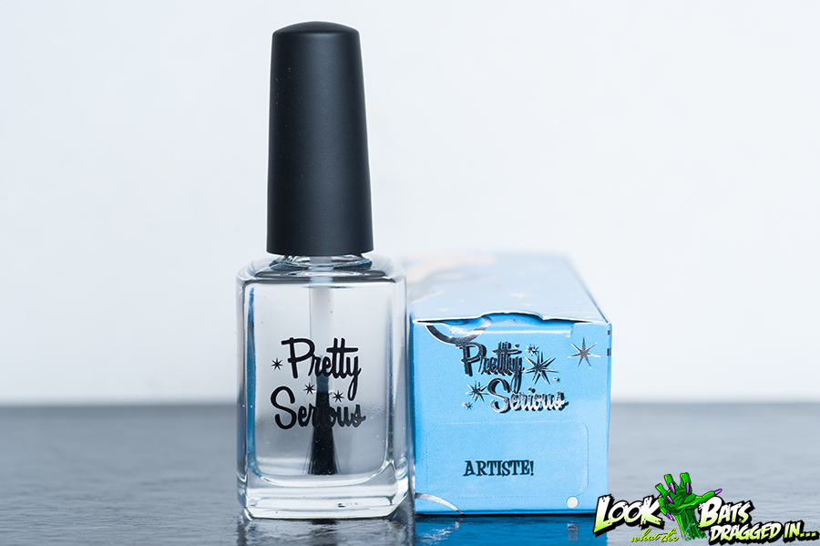 Pretty Serious Cosmetics Artiste top coat review