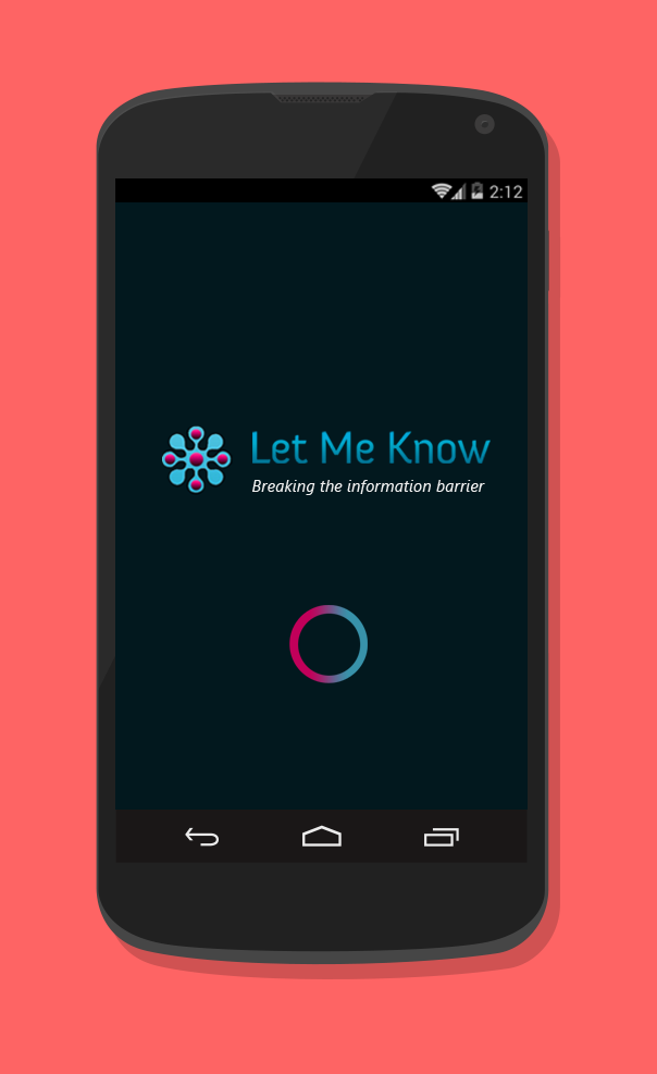 Thoughts In Three Let Me Know Android App Re Design