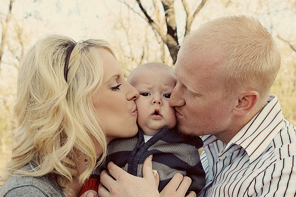 Braden, Heather & our little man Easton