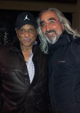 Con AL MACKAI / fundador y guitarrista de EARTH WIND & FIRE