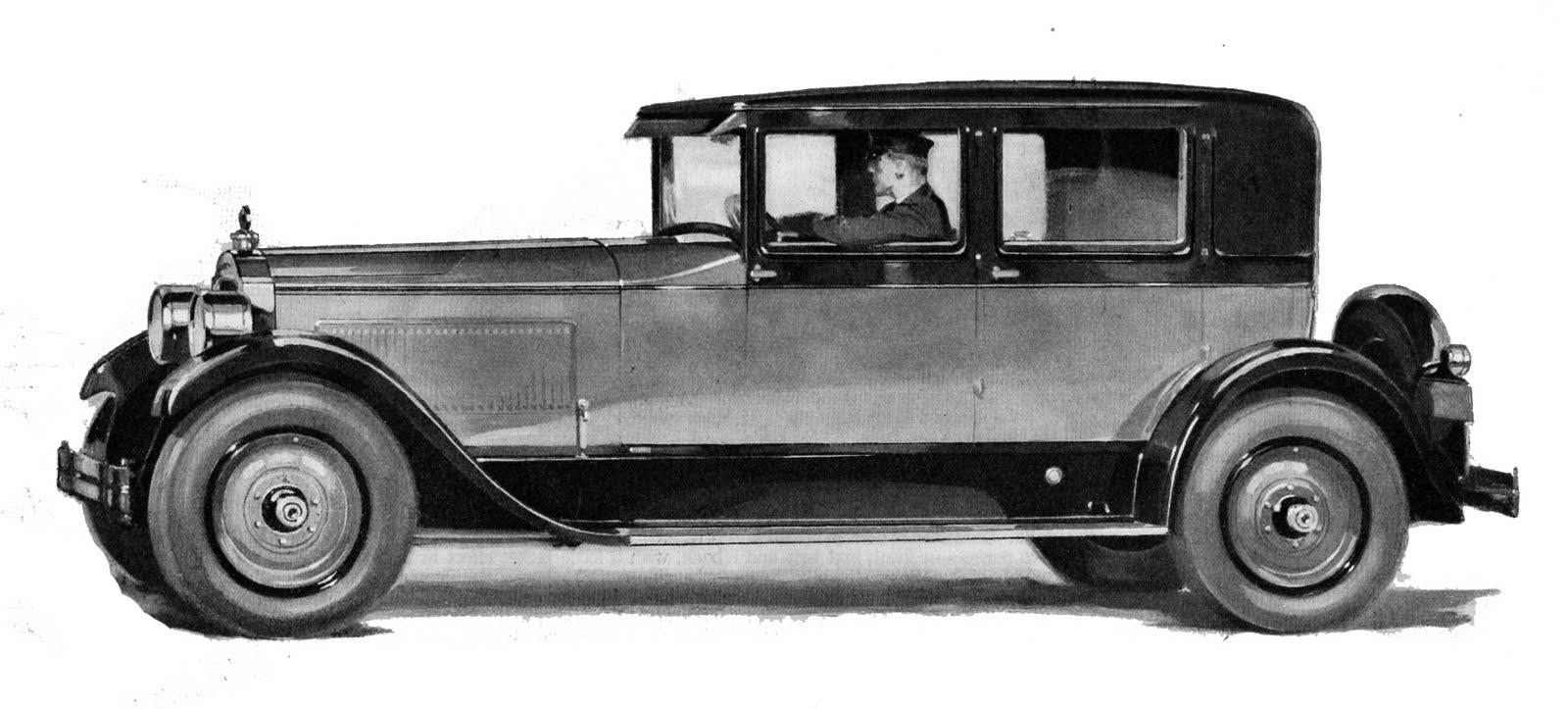 The Vintage Moth..: Vintage Clip Art- Packard Car