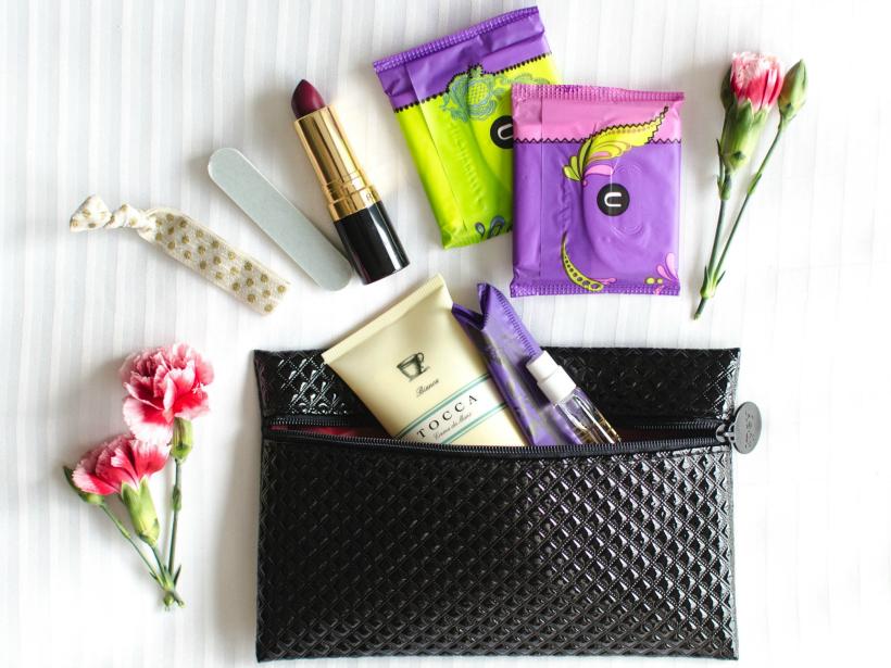 u by kotex in my beauty bag #UBYKOTEXSTARS