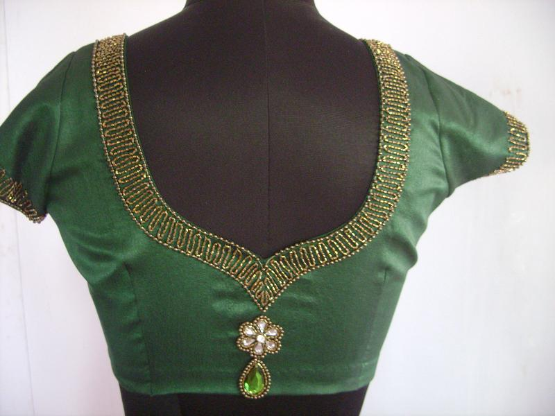 blouse designs with stone work queen of heaven