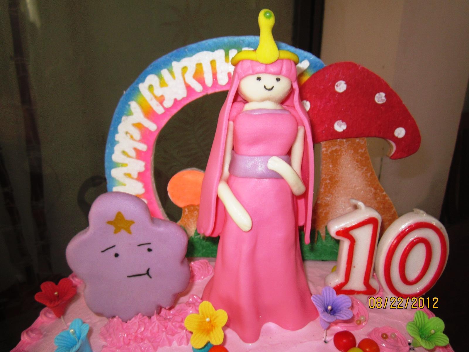 Princess Bubblegum Jnyj J Nee J Cakes