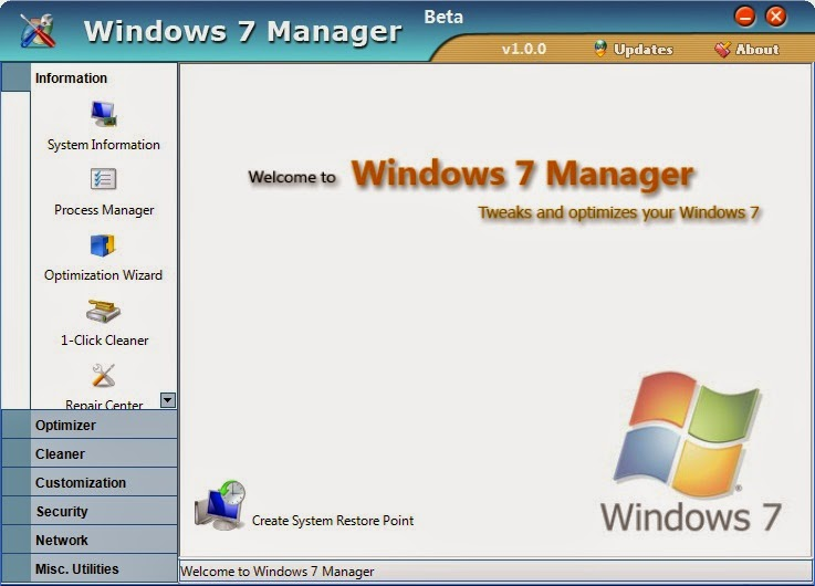 Yamicsoft-Windows 7-Manager-download