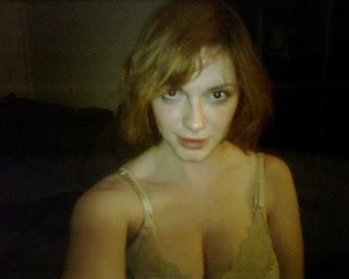 Christina Hendricks Leaked Topless Photo?