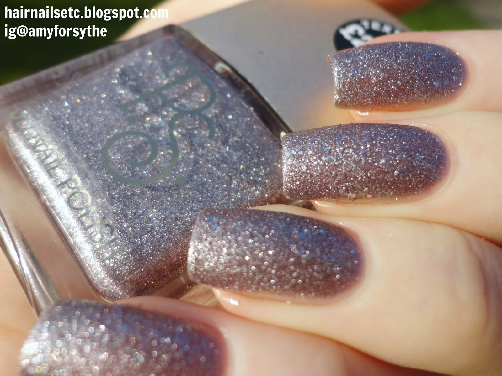 Primark PS 3D Texture Nail Polishes Swatches and Review Grey Silver