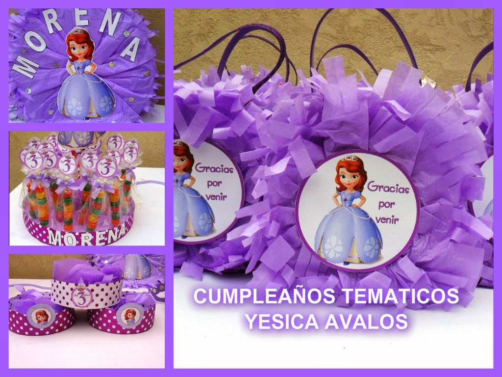 Cumplea os tem ticos cumplea os tematico de princesa sofia - Fiestas de cumpleanos de princesas ...