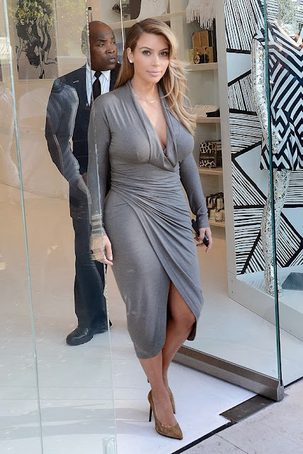 Style 4 Curves --For the Curvy Confident Woman: October 2013 Kim Kardashian 2013 October