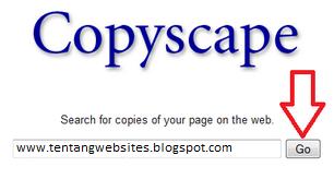 cek artikel original atau hasil copy paste