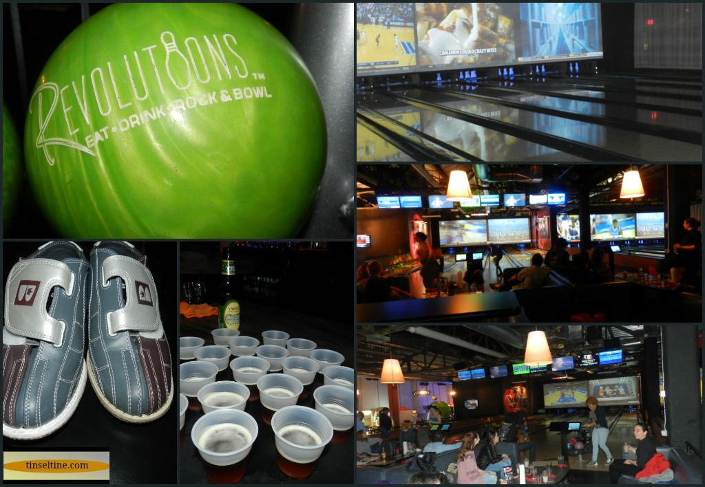 BURGERS, BEER & BOWLING REVOLUTIONS OPENING