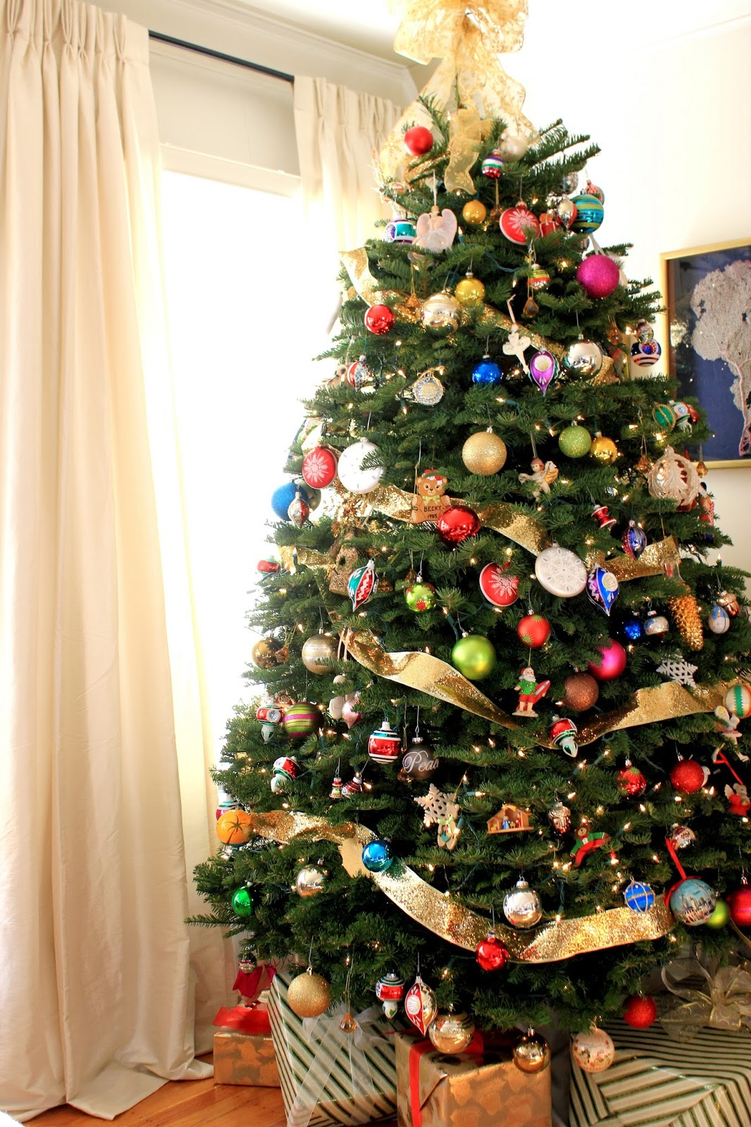 cup half full o christmas tree - Half Christmas Trees