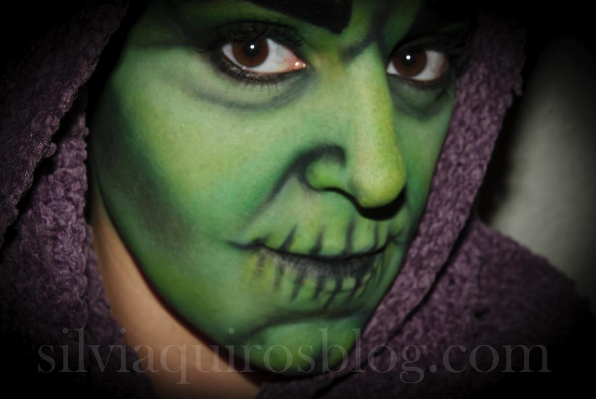 maquillaje halloween 17 bruja halloween make up 17 witch efectos especiales - Maquillaje Bruja