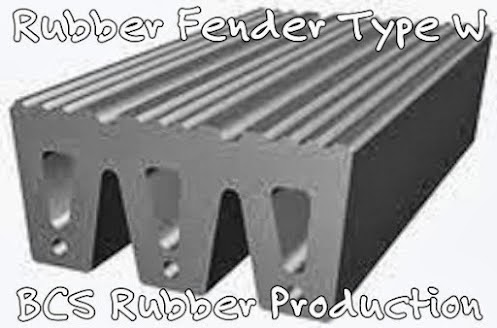 Rubber Fender BCS Rubber Industry,Rubber Fender Type W