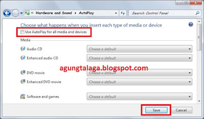 Cara Menonaktifkan Autoplay Windows 7