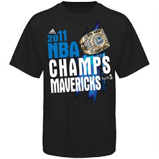 Big and Tall Dallas Mavericks Champions T-Shirt