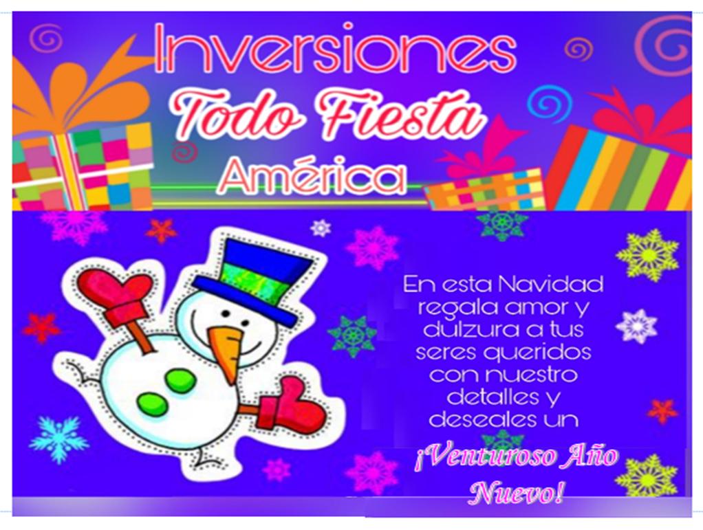 TODO FIESTAS AMÉRICA