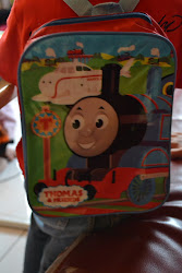 Thomas and Friends light Bag pack