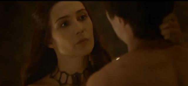 Melisandre habla con Gendry - Juego de Tronos en los siete reinos