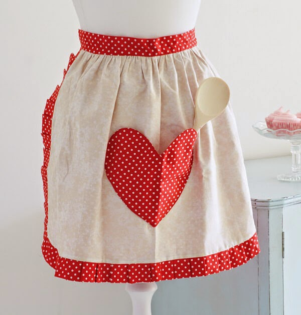 Sweetheart Apron Pattern
