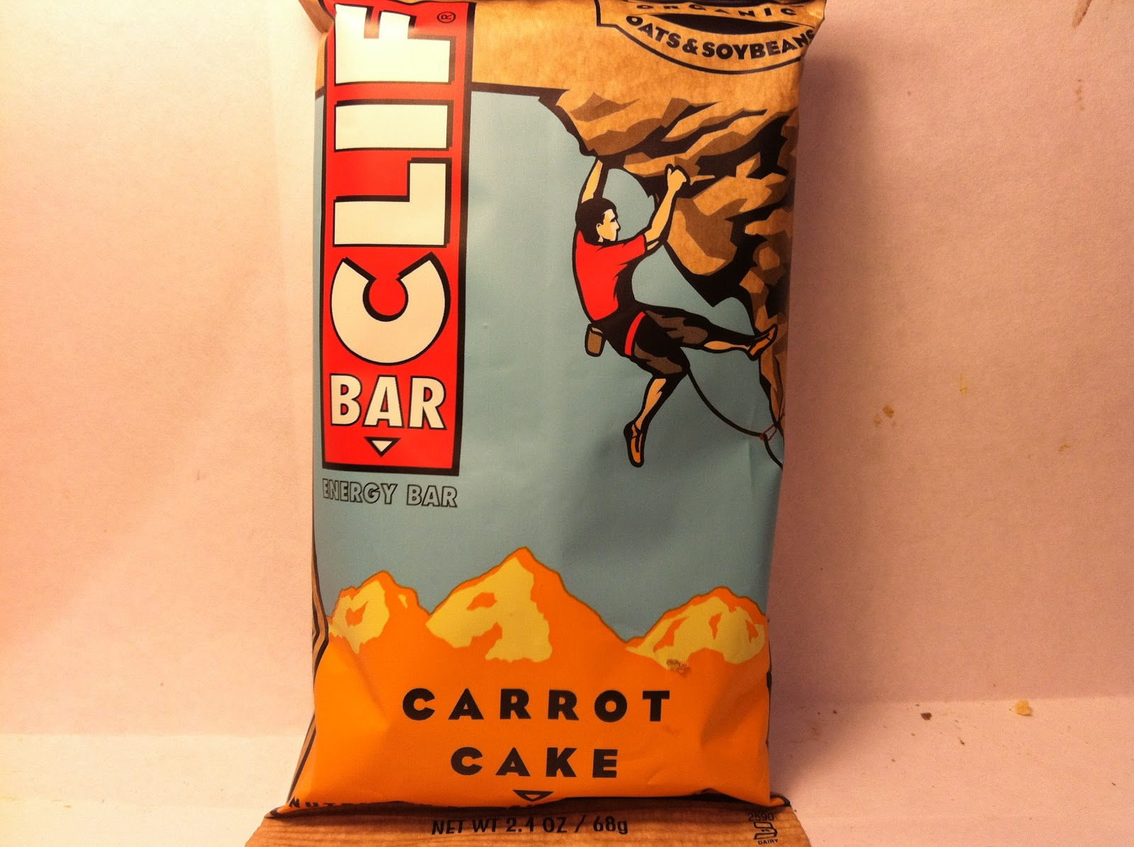 Clif Carrot Cake
