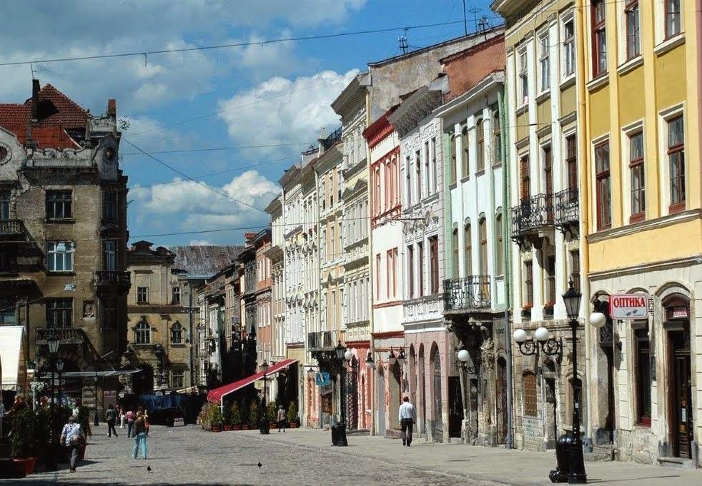 Beautiful Eastern Europe Lviv Ukraine
