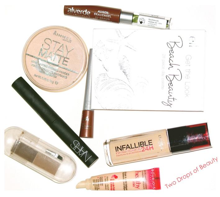 продукты для макияжа, макияж дневной, Healthy mix Bourjois, L'Oreal, Nars, Essence, Rimmel, Manhattan, ELF